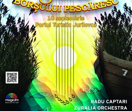 SERBAREA BORȘULUI PESCĂRESC de la Jurilovca invită localnicii și turiștii la cea de-a VII-a ediție