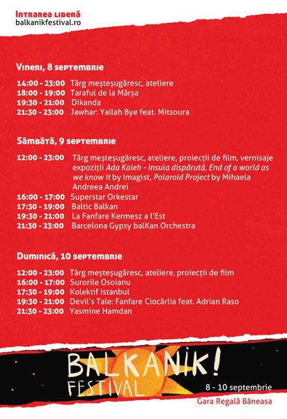 Program Balkanik Festival