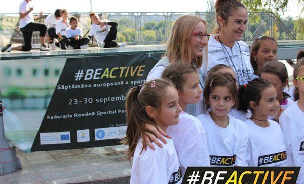 Mișcare pentru toți, jocuri recreative și dansuri în Săptămâna Europeană a Sportului