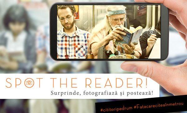 Spot the reader! Surprinde, fotografiază şi postează!
