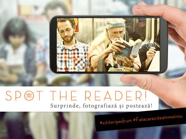 Spot the reader
