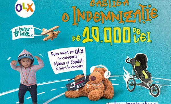 OLX lansează campania #BebeBine