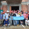 Voluntari straini pe santierul Habitat for Humanity Medias