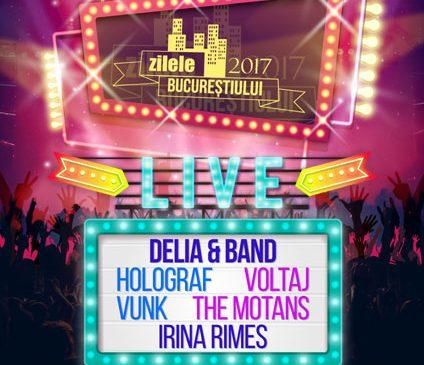Pe 17 septembrie sărbătorim Zilele Bucureștiului LIVE, în Piața Constituției