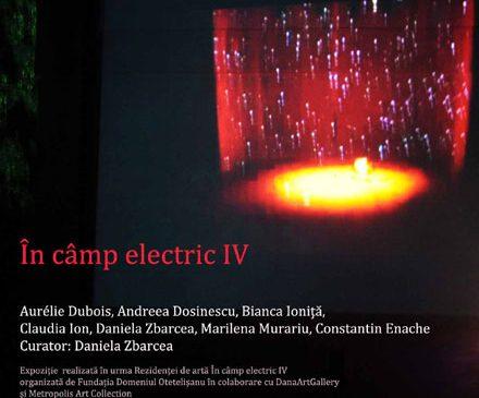 """""""În câmp electric IV"""" – Expoziție"""
