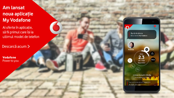 noua versiune My Vodafone