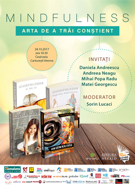 Afis Mindfulness 24 octombrie