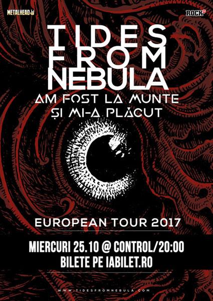 Am Fost La Munte si Mi-a Placut vor canta cu Tides From Nebula la Club Control