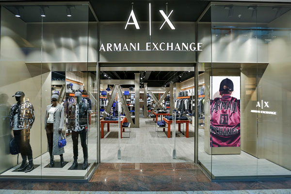 Armani Exchange, Baneasa Shopping City