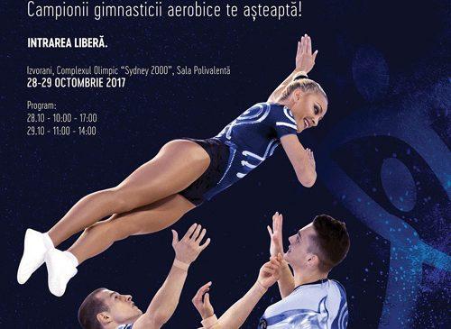 Axis Communications transmite live Campionatele Naţionale de Gimnastică Aerobică