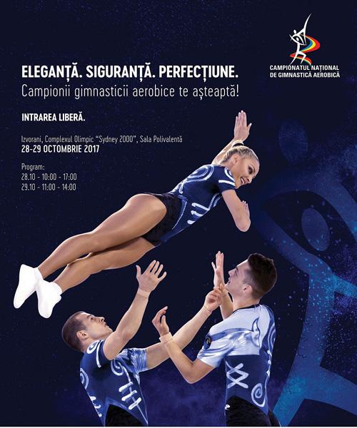 Axis Communications transmite live Campionatele Nationale de Gimnastica Aerobica