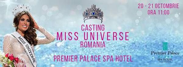 Casting Miss Universe Romania 2017