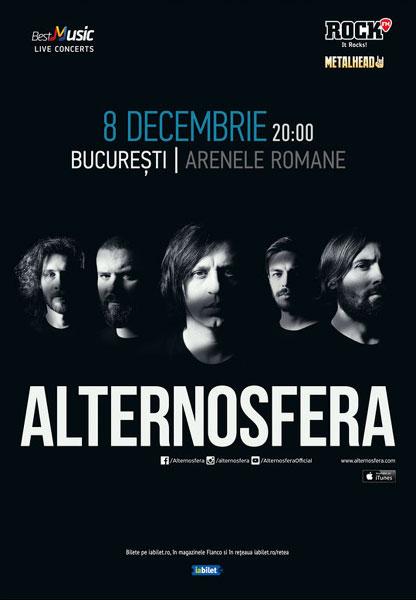 Concert Alternosfera la Arenele Romane, 8 decembrie