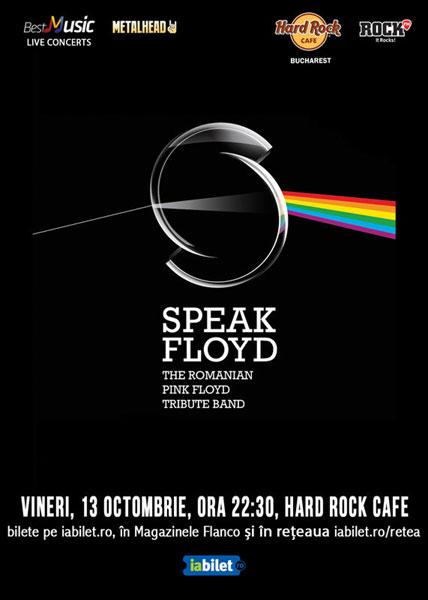 Concert Tribut Pink Floyd cu Speak Floyd la Hard Rock Cafe