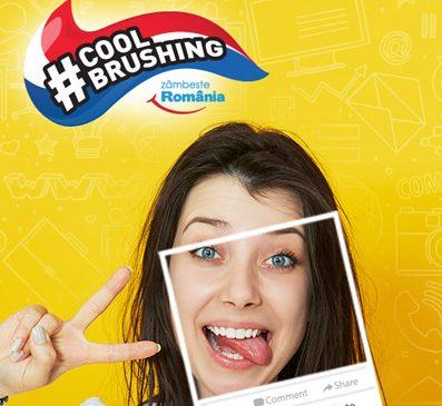Campania Zâmbeşte România face igiena orală cool pentru copii şi adolescenţi, cu lansarea aplicaţiei #CoolBrushing