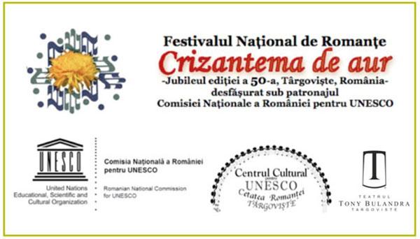 """TVR 3 transmite integral Festivalul Naţional de Interpretare şi Creaţie a Romanţei """"Crizantema de Aur"""", ediţia a 50-a, jubiliară, 2017"""