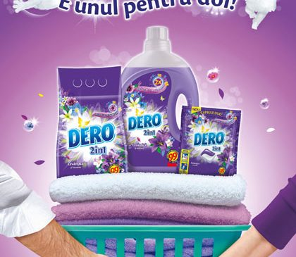 DERO lansează o nouă campanie integrată și pornește dialogul pe tema distribuției treburilor casnice