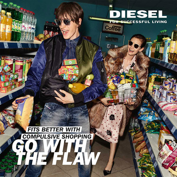 Diesel, campania GO WITH THE FLAW