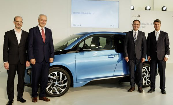 BMW Group produce 100.000 BMW i3