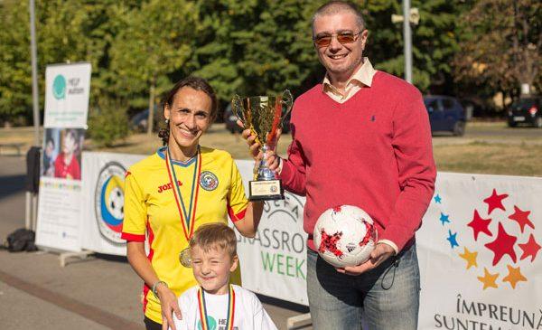 Federația Română de Fotbal susține integrarea prin sport a copiilor cu autism
