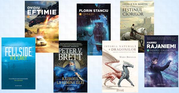 Festin literar la Editura Nemira, 7 titluri de citit în această toamna