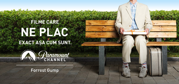 Paramount Channel desfășoară cea mai mare campanie de marketing din România, Ungaria și Polonia: FILME CARE NE PLAC AȘA CUM SUNT