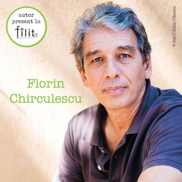 Florin Chirculescu invitat la FILIT 2017