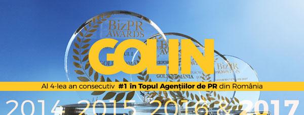 Golin, #1 in Topul Agentiilor de PR