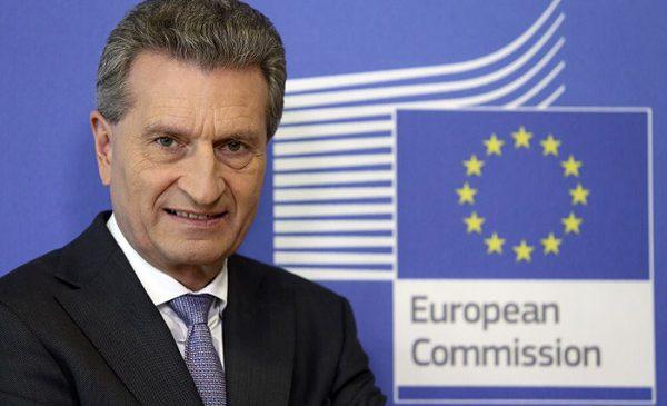 Vizita comisarului Oettinger în România