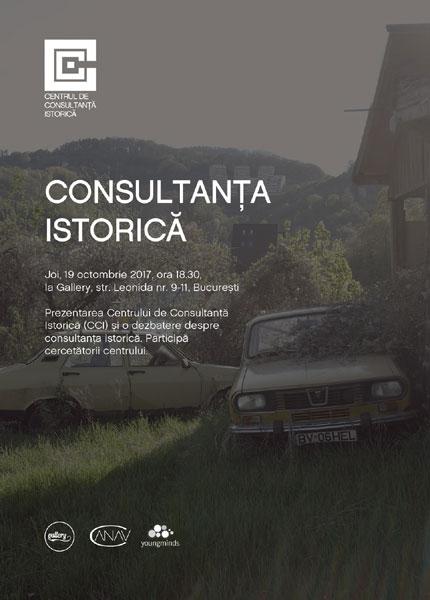 Lansarea Centrului de Consultanta Istorica