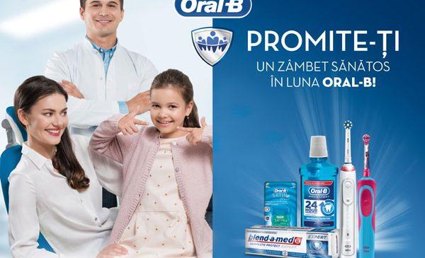Consultații și detratraje gratuite în peste 40 de clinici stomatologice în luna Oral-B