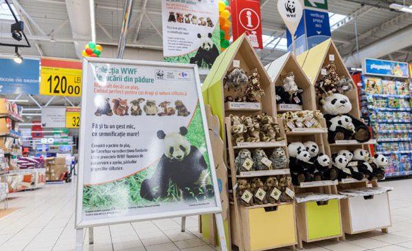 Grupul Carrefour și WWF România au început anul acesta un parteneriat strategic pe trei ani care are ca scop protejarea a 21.000 ha de păduri