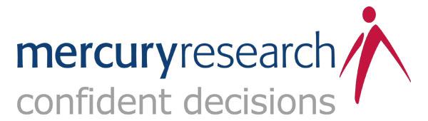 Mercury Research logo