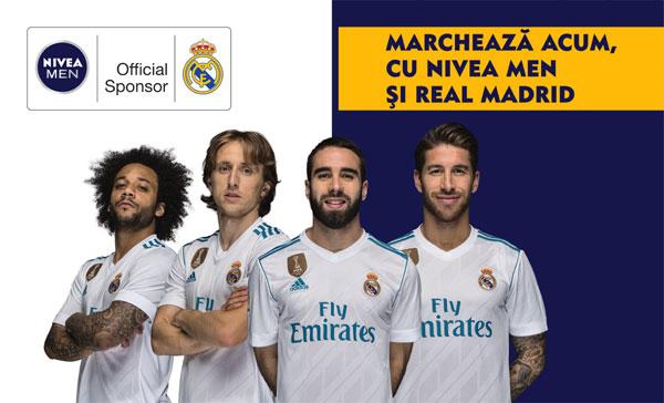 NIVEA MEN, Real Madrid