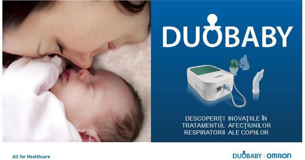 Omron Duobaby – nebulizatorul inovator 2 în 1 pentru întreaga familie