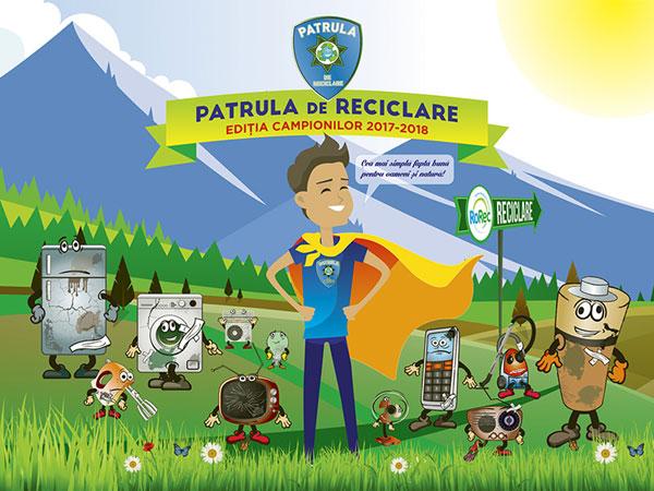 Patrula de Reciclare a deschis inscrierile la Editia Campionilor