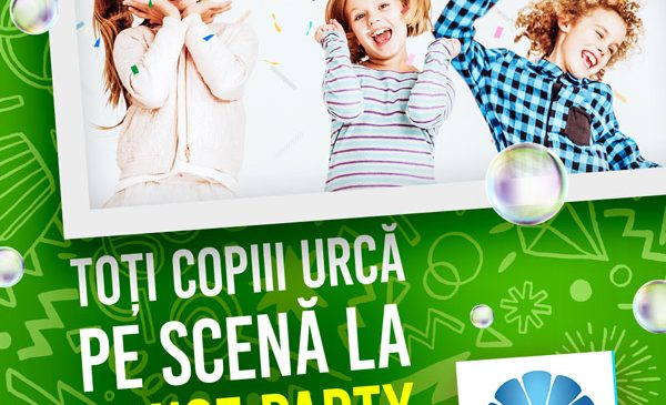 Petrecere cu muzică și dans pentru copii la Plaza România