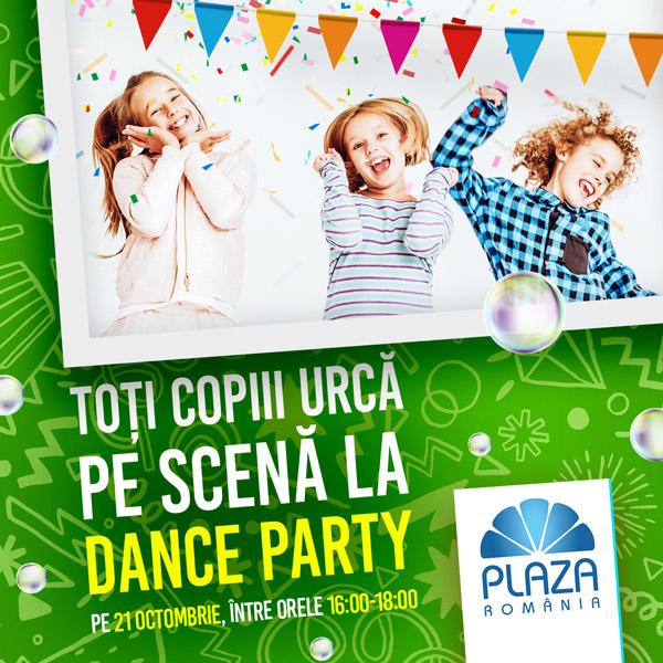 Petrecere pentru copii la Plaza Romania
