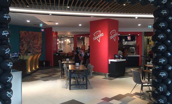 Pizza Sbarro în stil newyorkez, din 14 octombrie, la București Mall