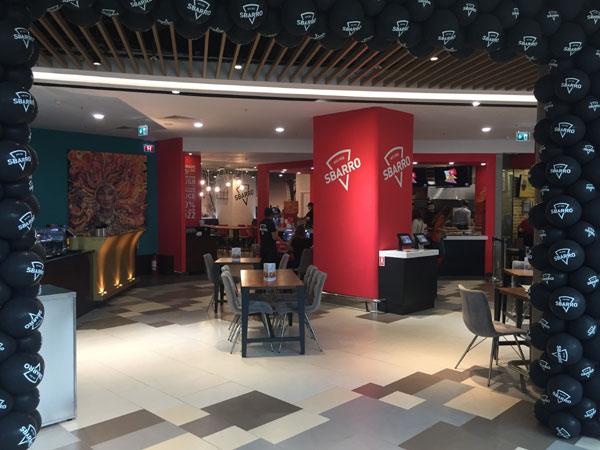 Pizza Sbarro in stil newyorkez, din 14 octombrie, la Bucuresti Mall