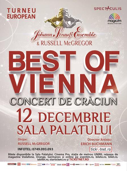 Poster Johann Strauss Ensemble, Best of Vienna, Tour 2017