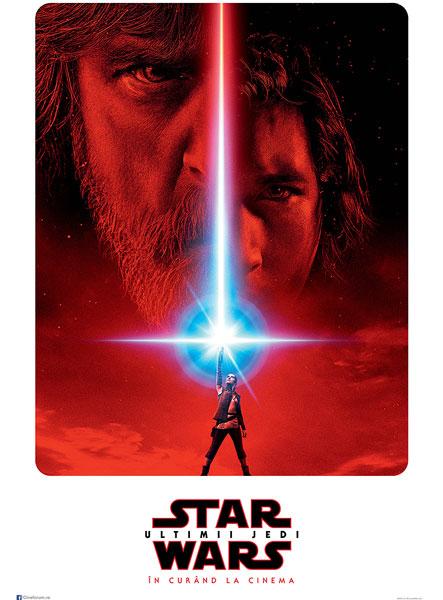 STAR WARS, Ultimii Jedi, teaser poster