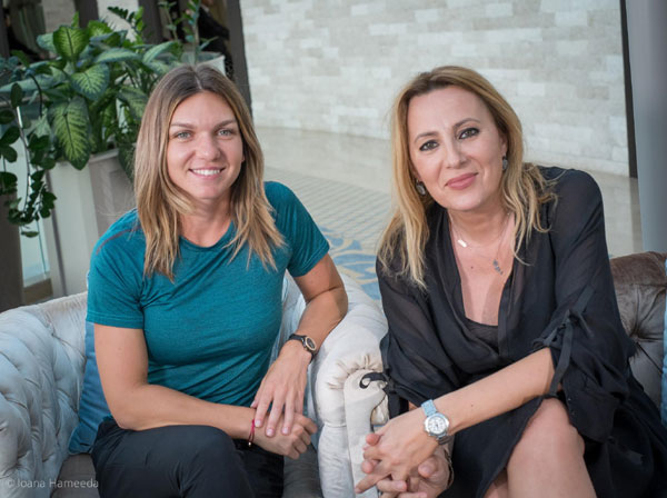 Simona halep si Irina Pacurariu
