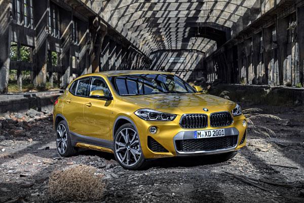The new BMW X2. X2 xDrive20d, model M Sport X