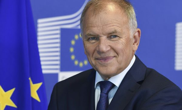 Comisarul european Vytenis Andriukaitis la București