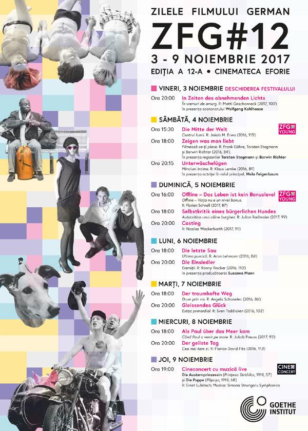 Zilele Filmului German, Program 2017