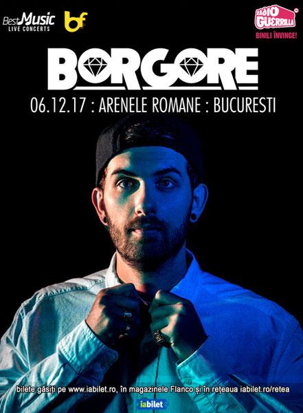 afis Borgore 6 decembrie