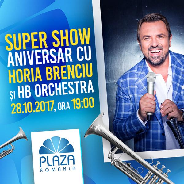 concert gratuit Horia Brenciu la Plaza Romania