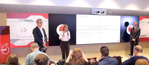 Vodafone România lansează Supernet™4.5G și oferă în premieră o nouă generație de viteze de date mobile