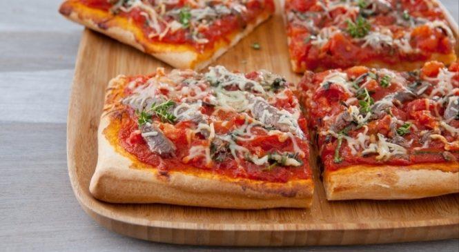 Cu pizza Gambino chiar si cei care tin dieta pot manca fara sa se ingrase